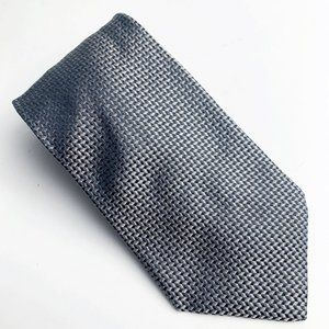 Donna Karan New York Gray All Silk Neck Tie